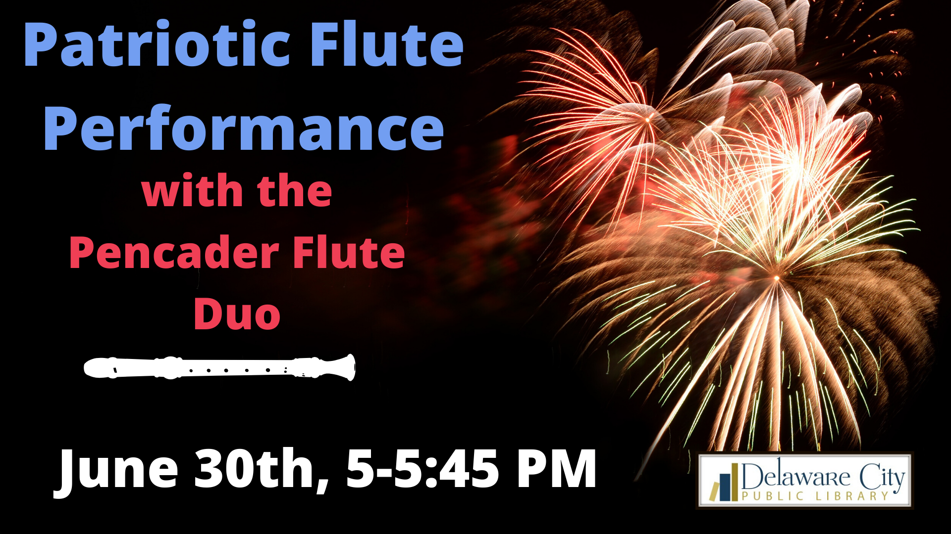 Patriotic Flute Performance with the Pencader Flute Duo