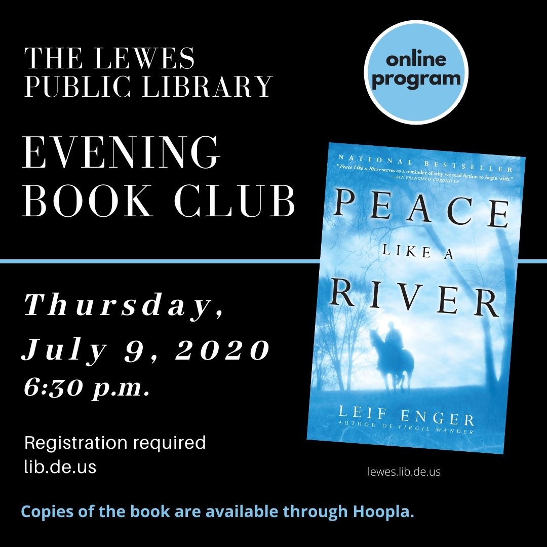 Lewes Library Evening Book Club | CANCELED