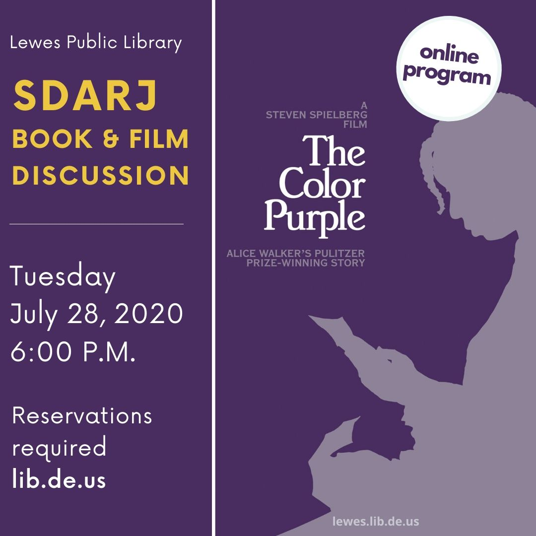 SDARJ Book & Film Discussion | The Color Purple (film directed by Steven Spielberg)