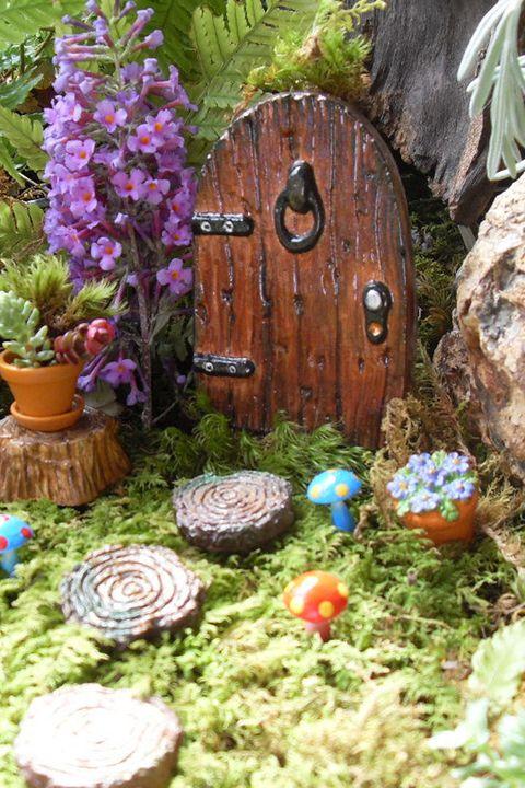 Fairy Garden Terrarium with the Lewes Public Library