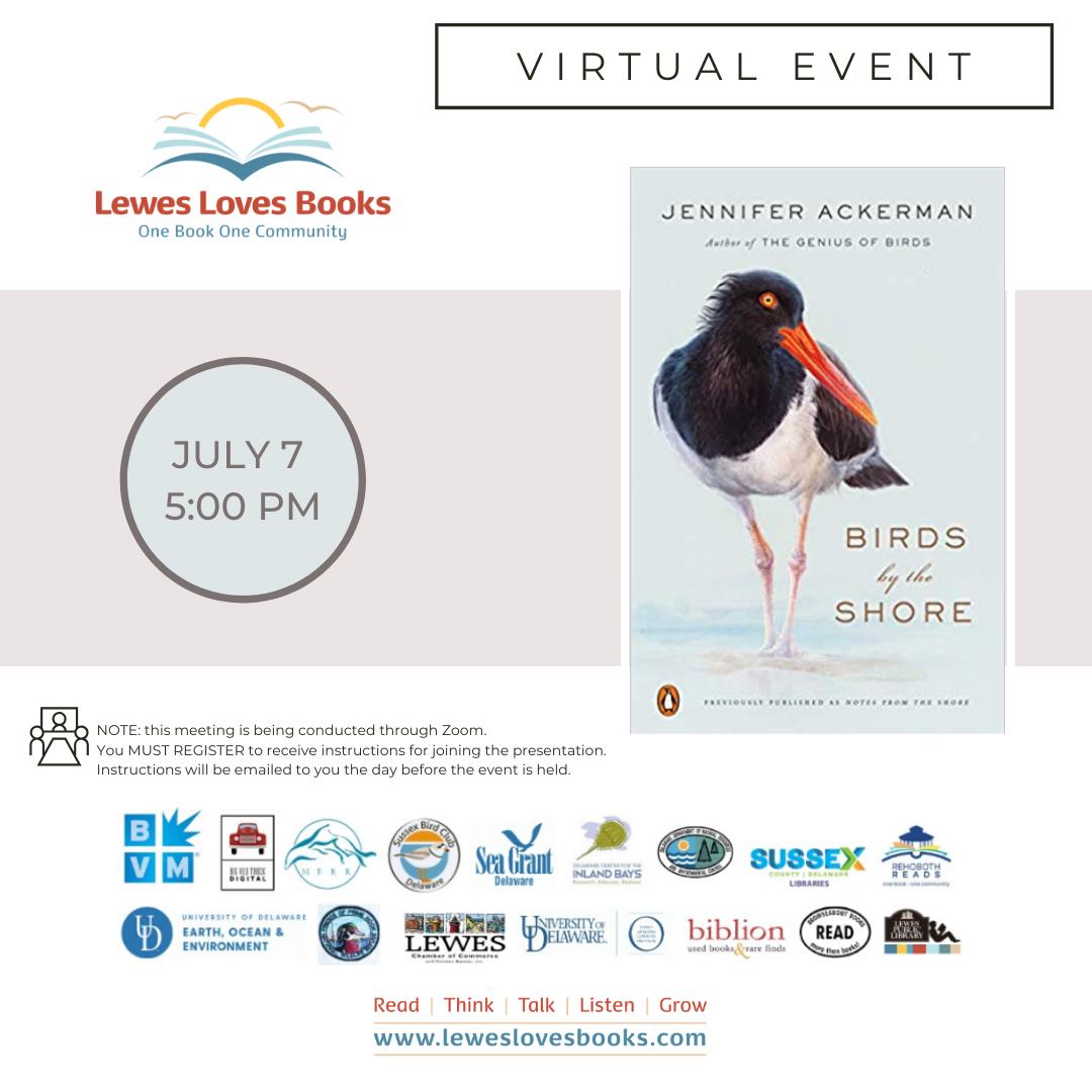 Jennifer Ackerman | Birds by the Shore