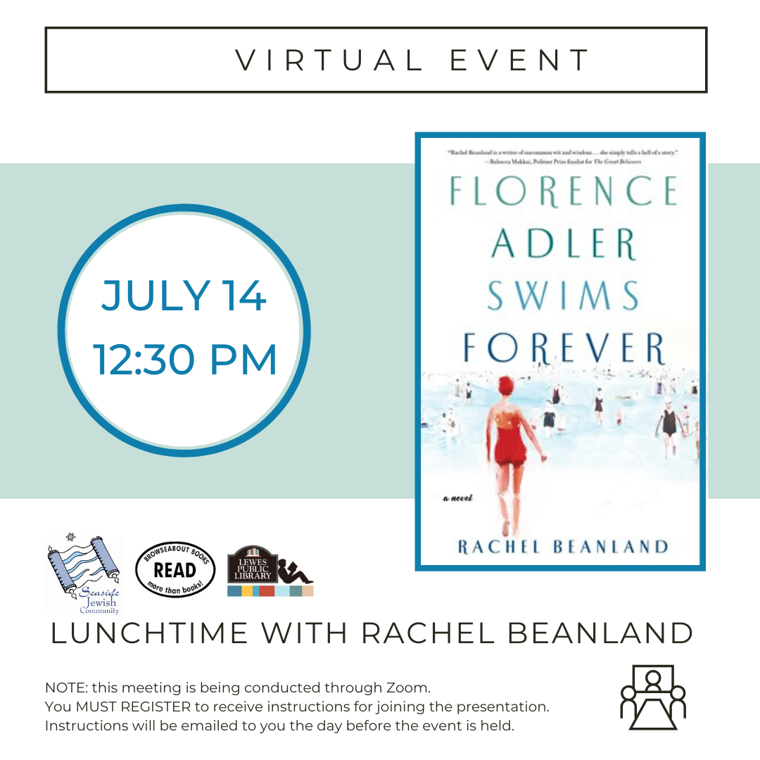 Lunchtime with Rachel Beanland | Florence Adler Swims Forever