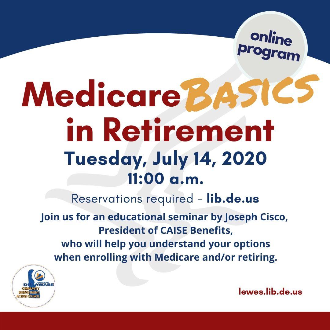 Medicare Basics In Retirement
