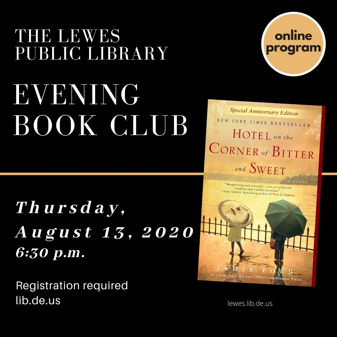 Lewes Library Evening Book Club | Hotel on the Corner of Bitter and Sweet