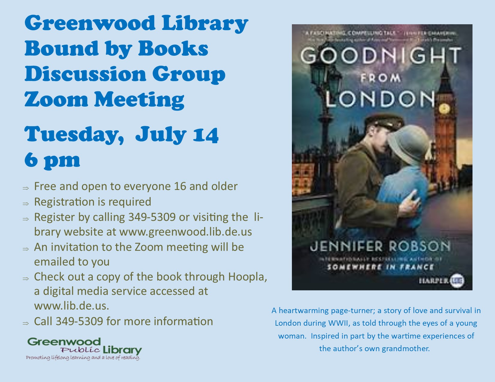 Bound by Books Book Discussion Group