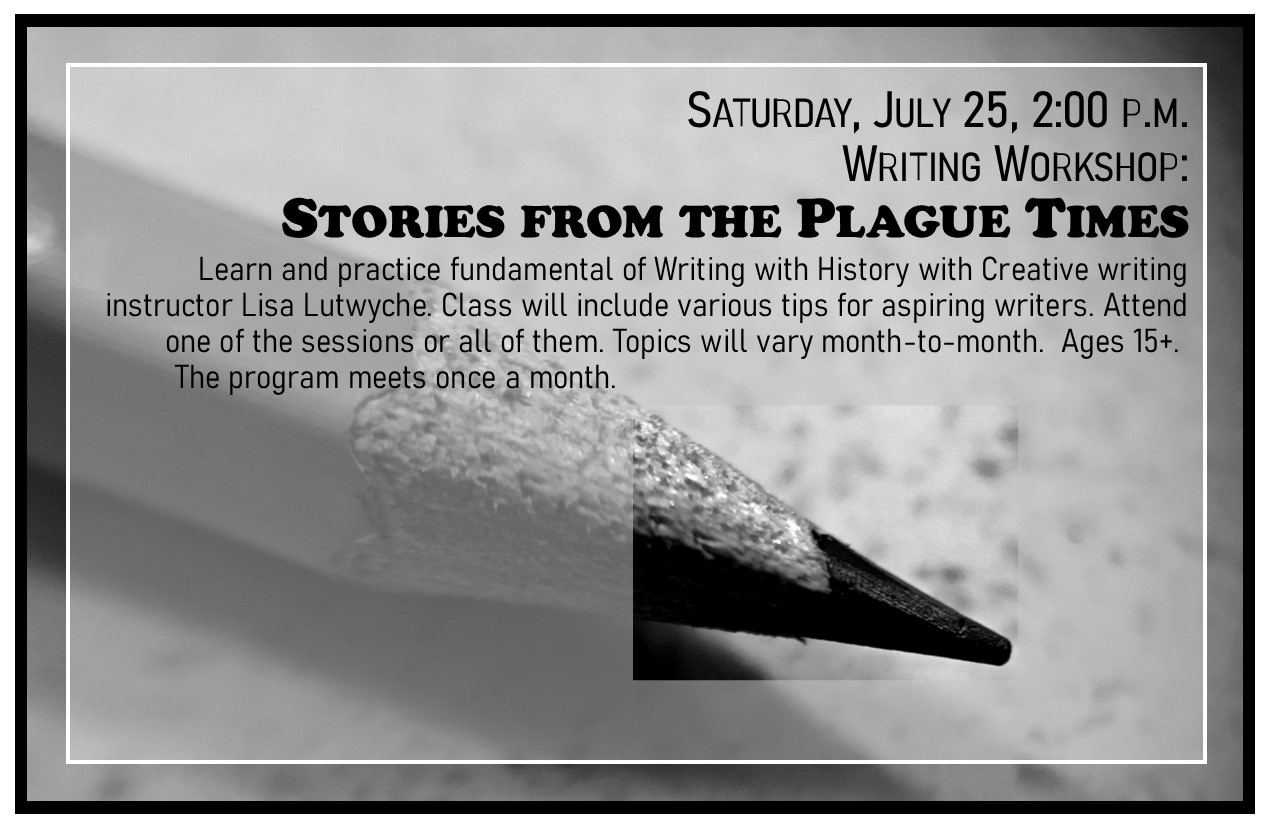Writing Workshops: Stories from the Plague Times