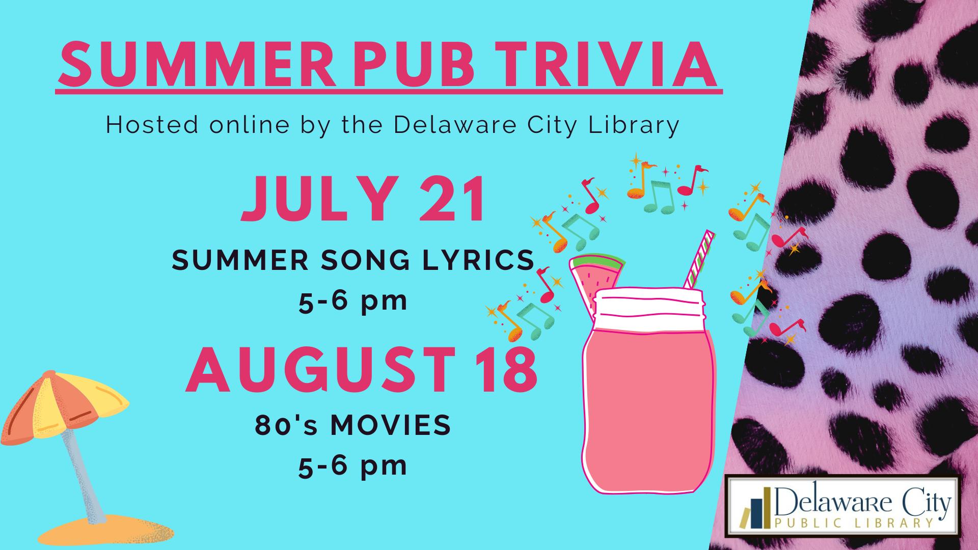 Summer Pub Trivia
