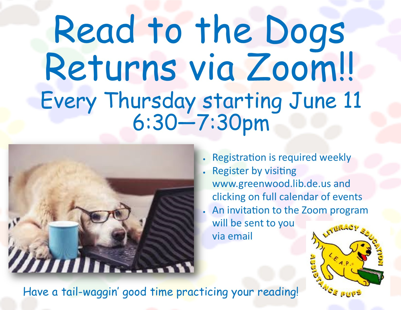 LEAP Read to the Dogs Virtual Edition