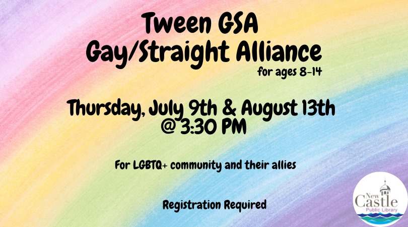 Tween GSA (Gay/Straight Alliance)