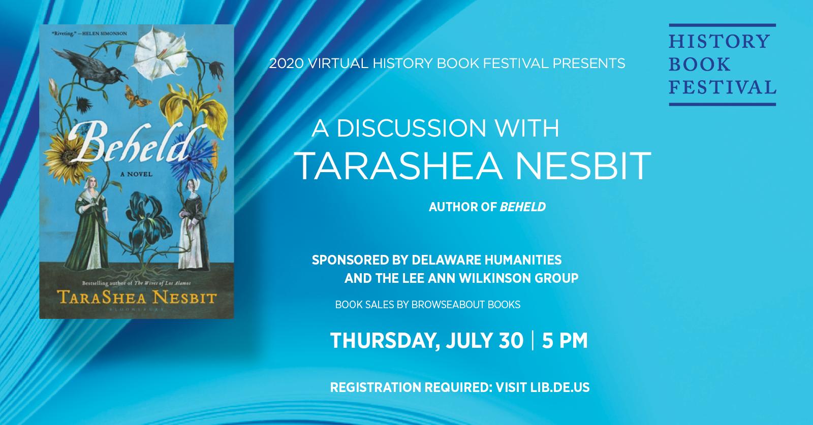 History Book Festival presents TaraShea Nesbit | Beheld