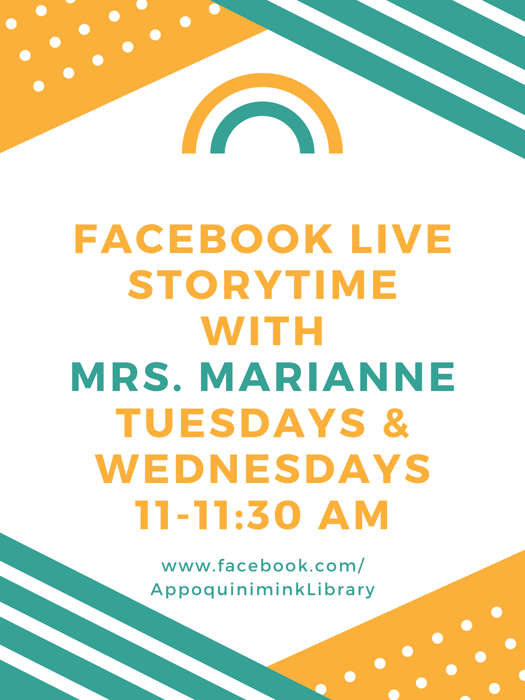 Storytime with Mrs. Marianne