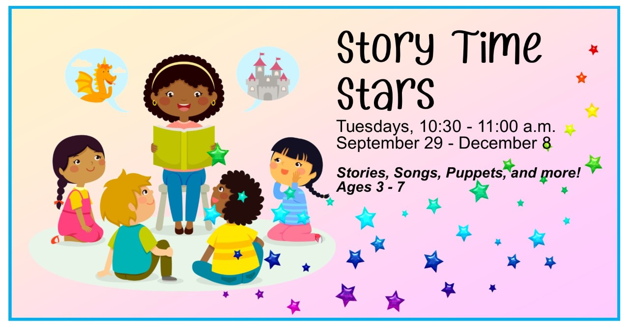 CANCELLED Nov 3 -- Story Time Stars