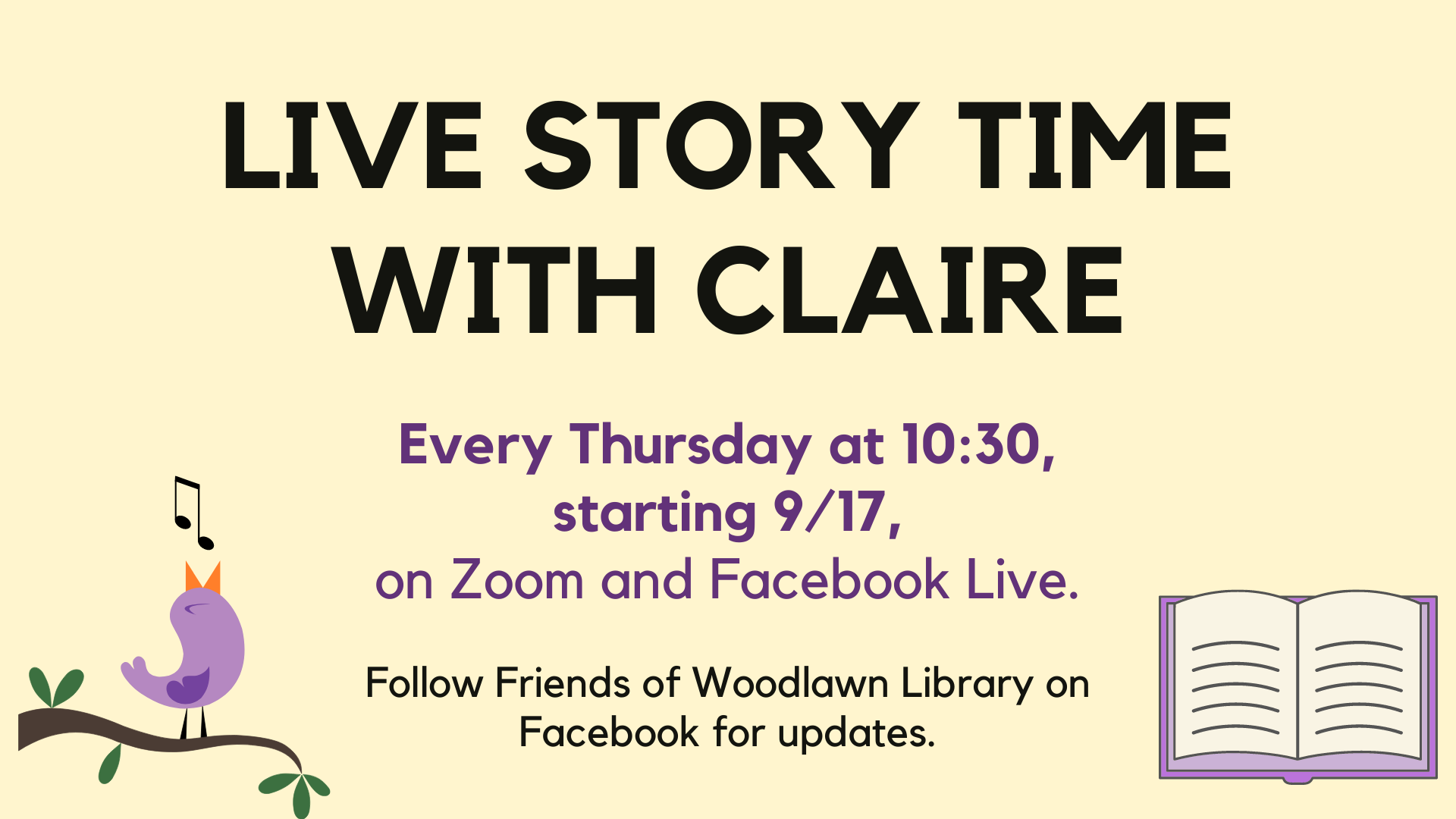Story Time with Claire