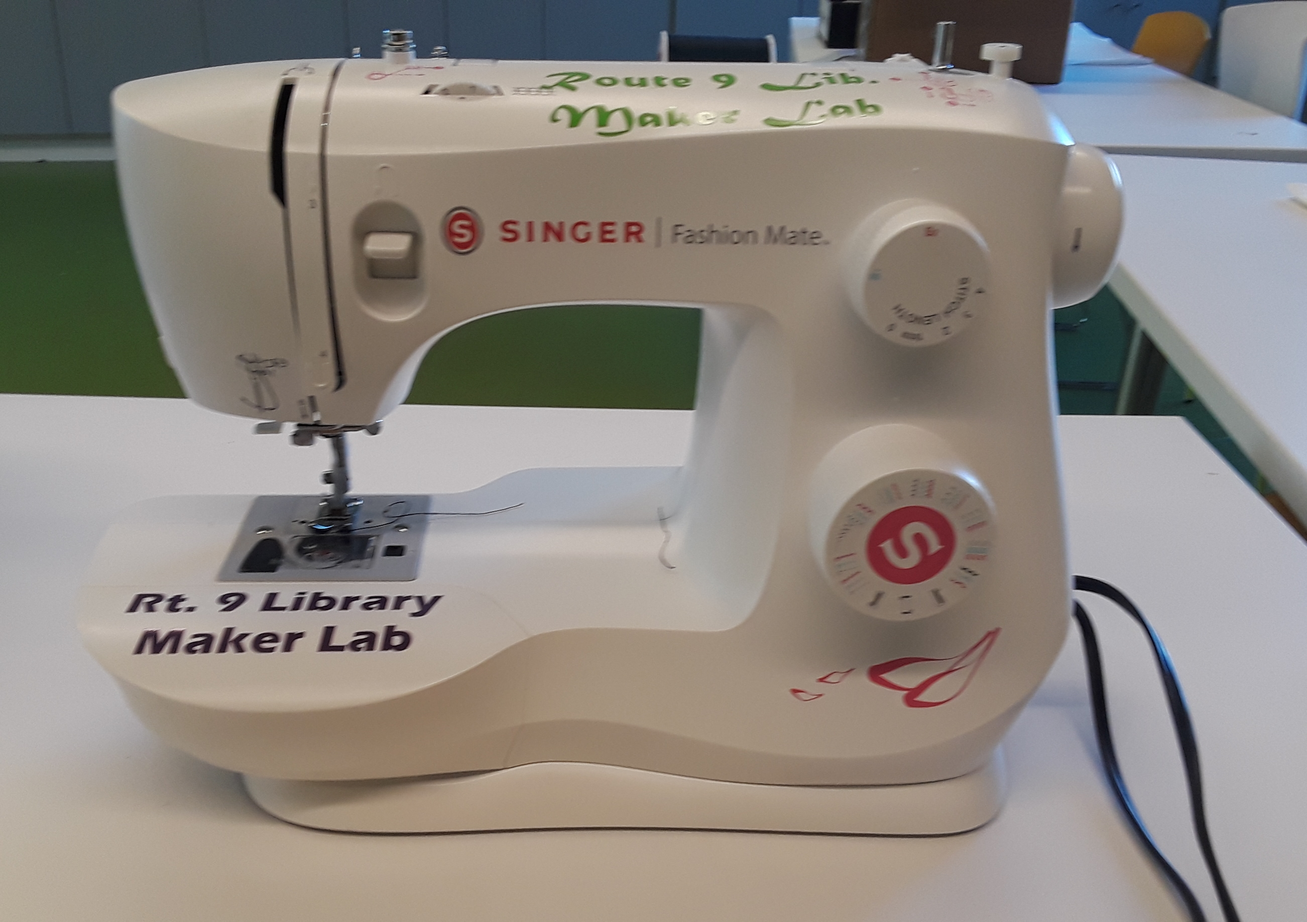 Maker Program: Hangin' by a Thread Sewing Meetup With Route 9 Library