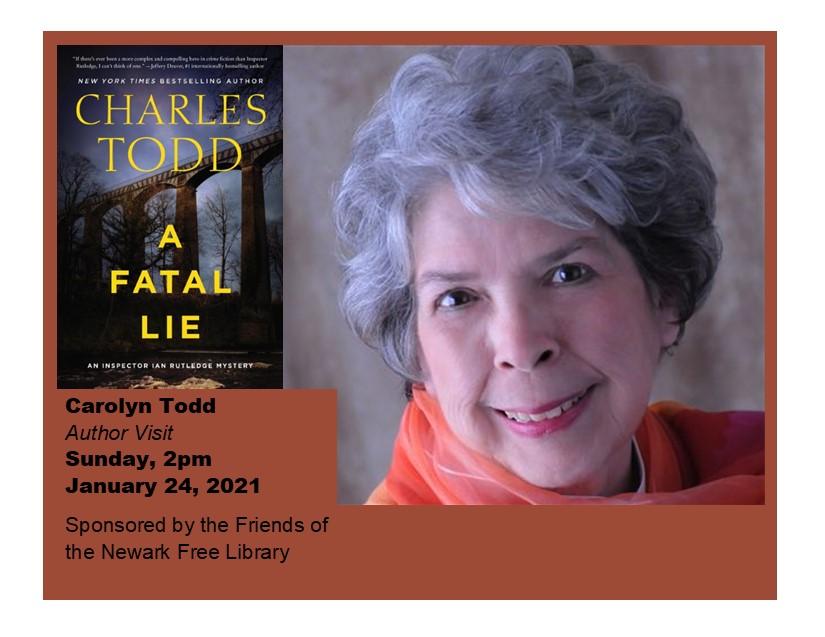 CAROLINE TODD Author Event