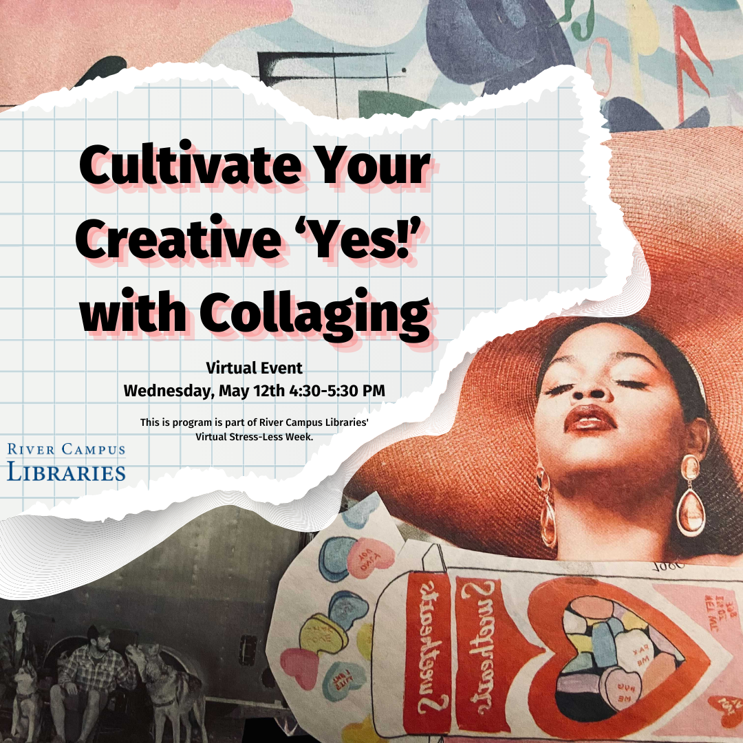 Cultivate Your Creative 'Yes!' with Collaging | Stress-Less Week