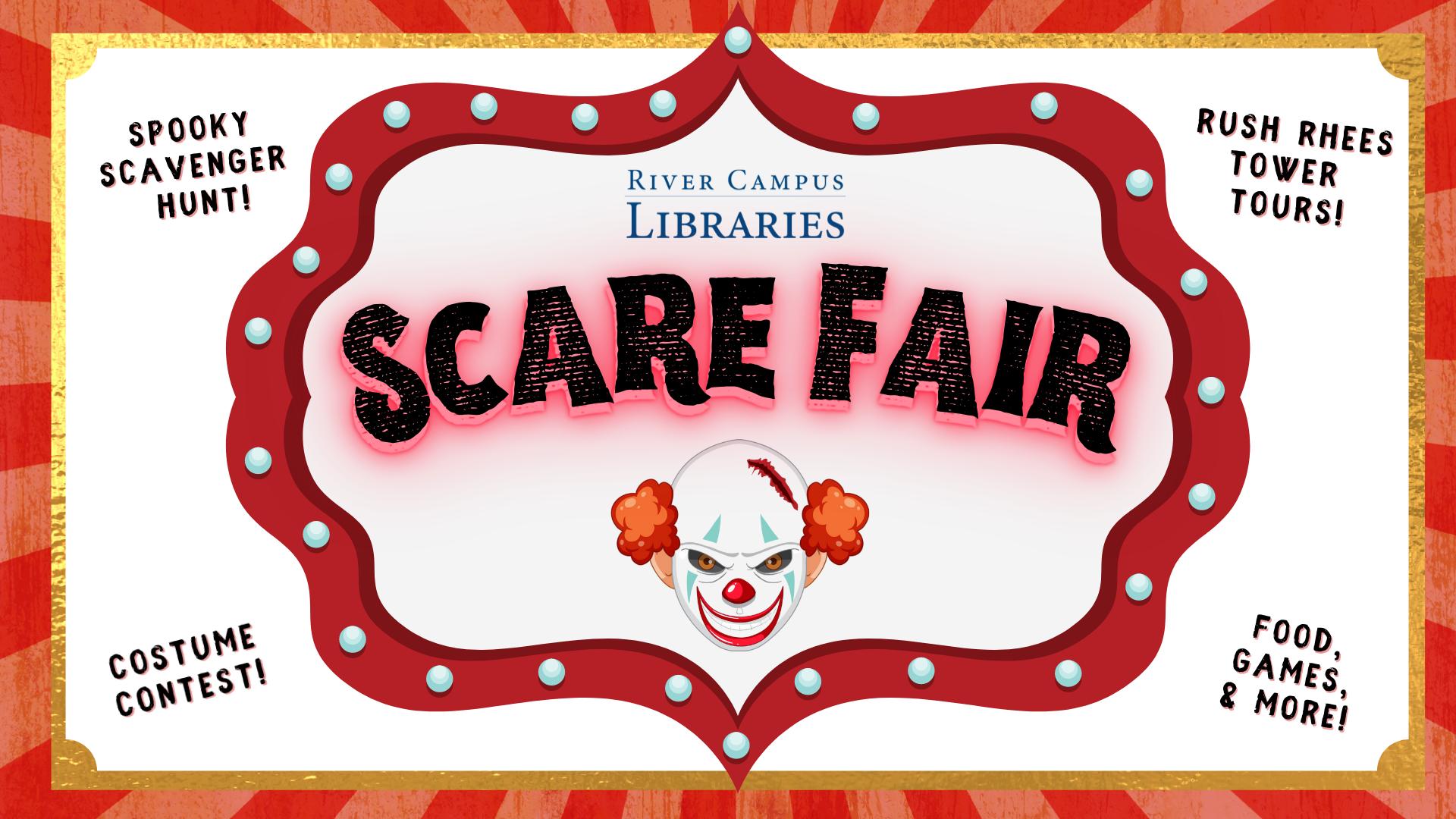 Scare Fair 2021: Creepy Library Carnival