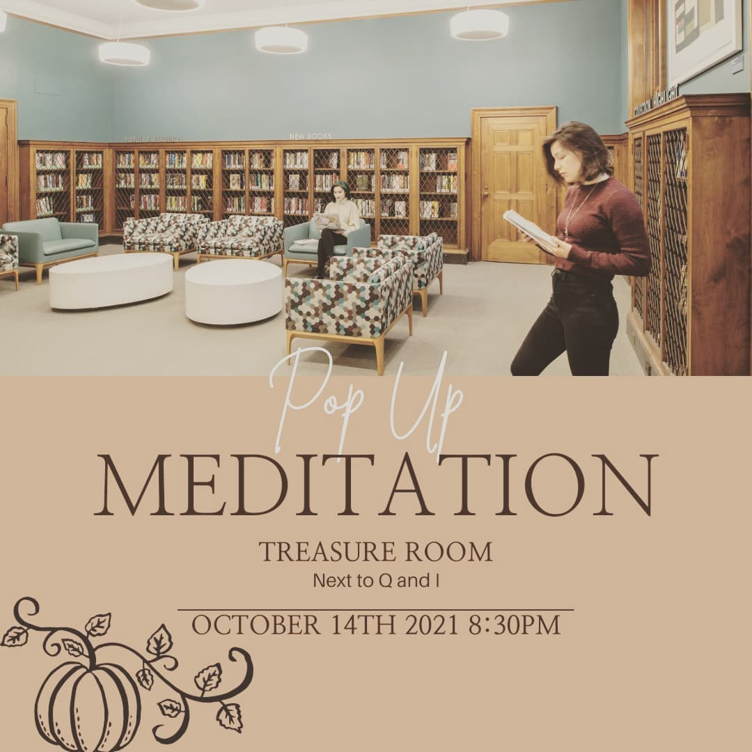 Pop-Up Mediation in the Treasure Room