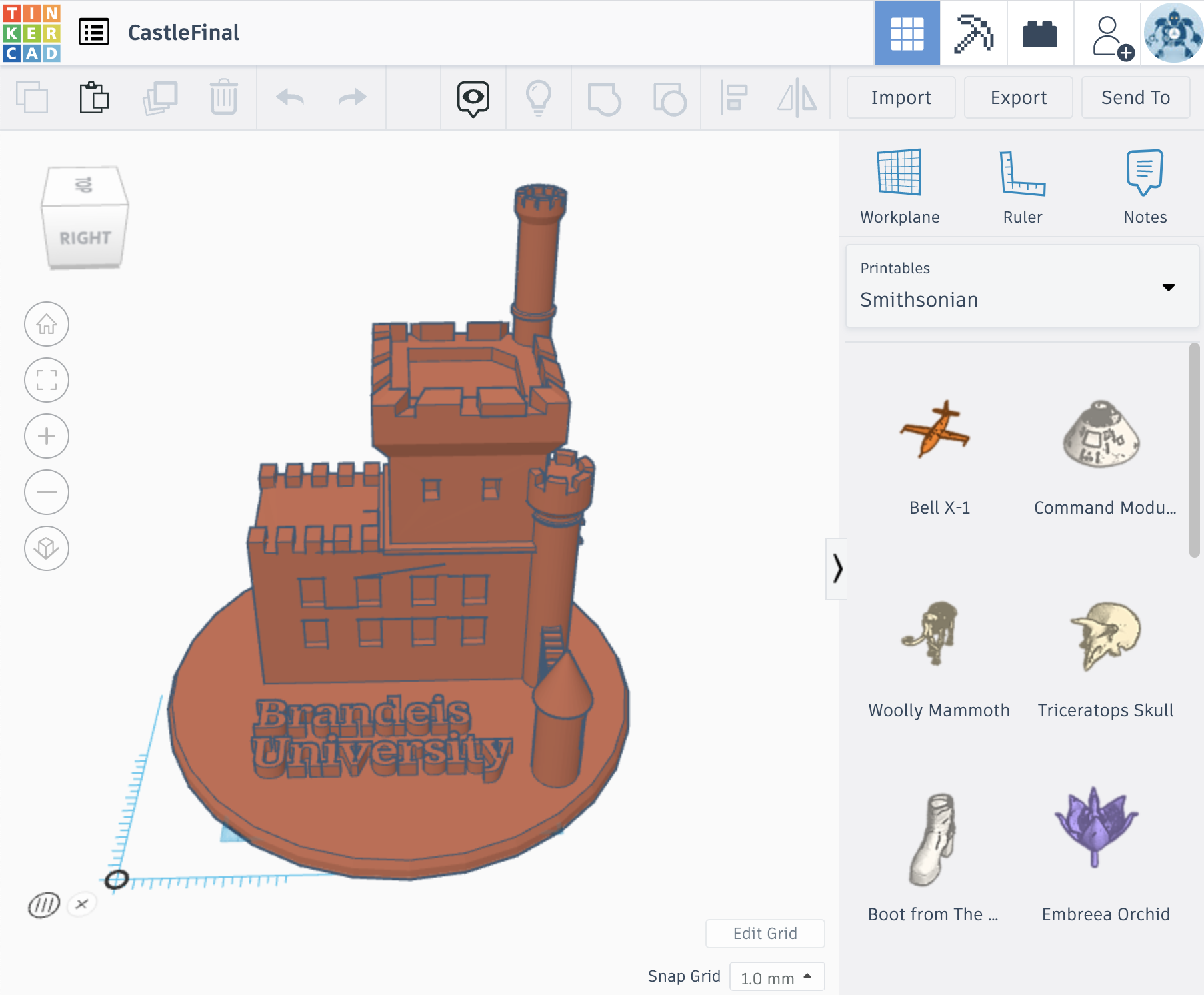 Intro to CAD with TinkerCAD