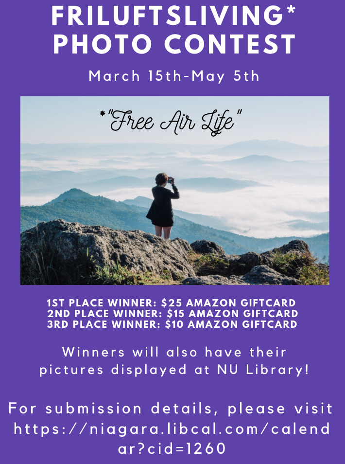 Friluftsliving Photo Contest (Ends May 5th)