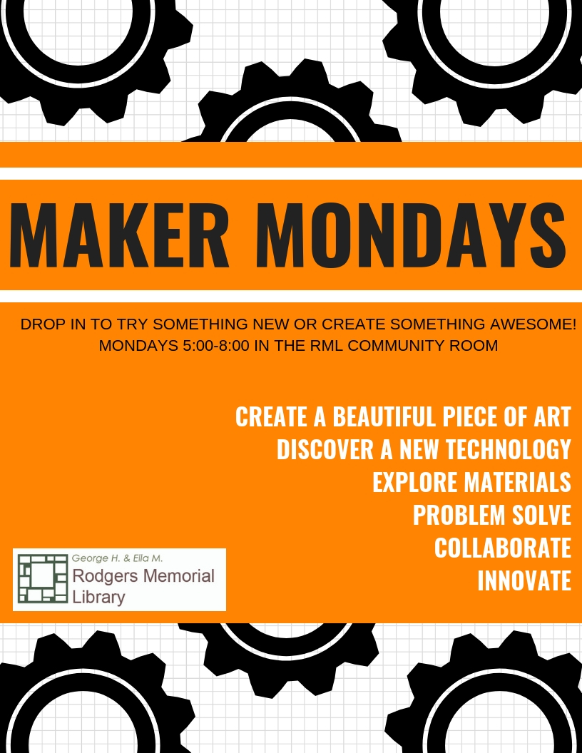 Maker Mondays with Make-It Labs Drones