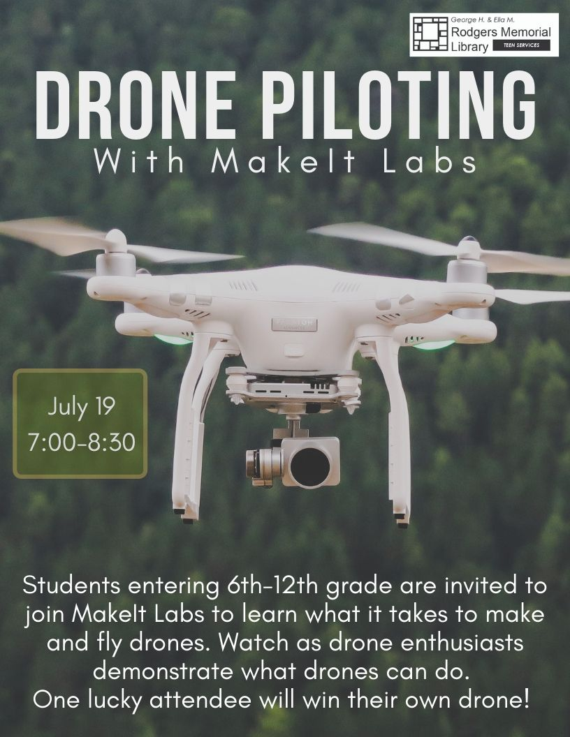 Drone Piloting with MakeIt Labs