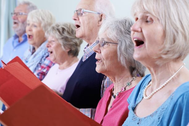 Sing Along at Fairview Healthcare