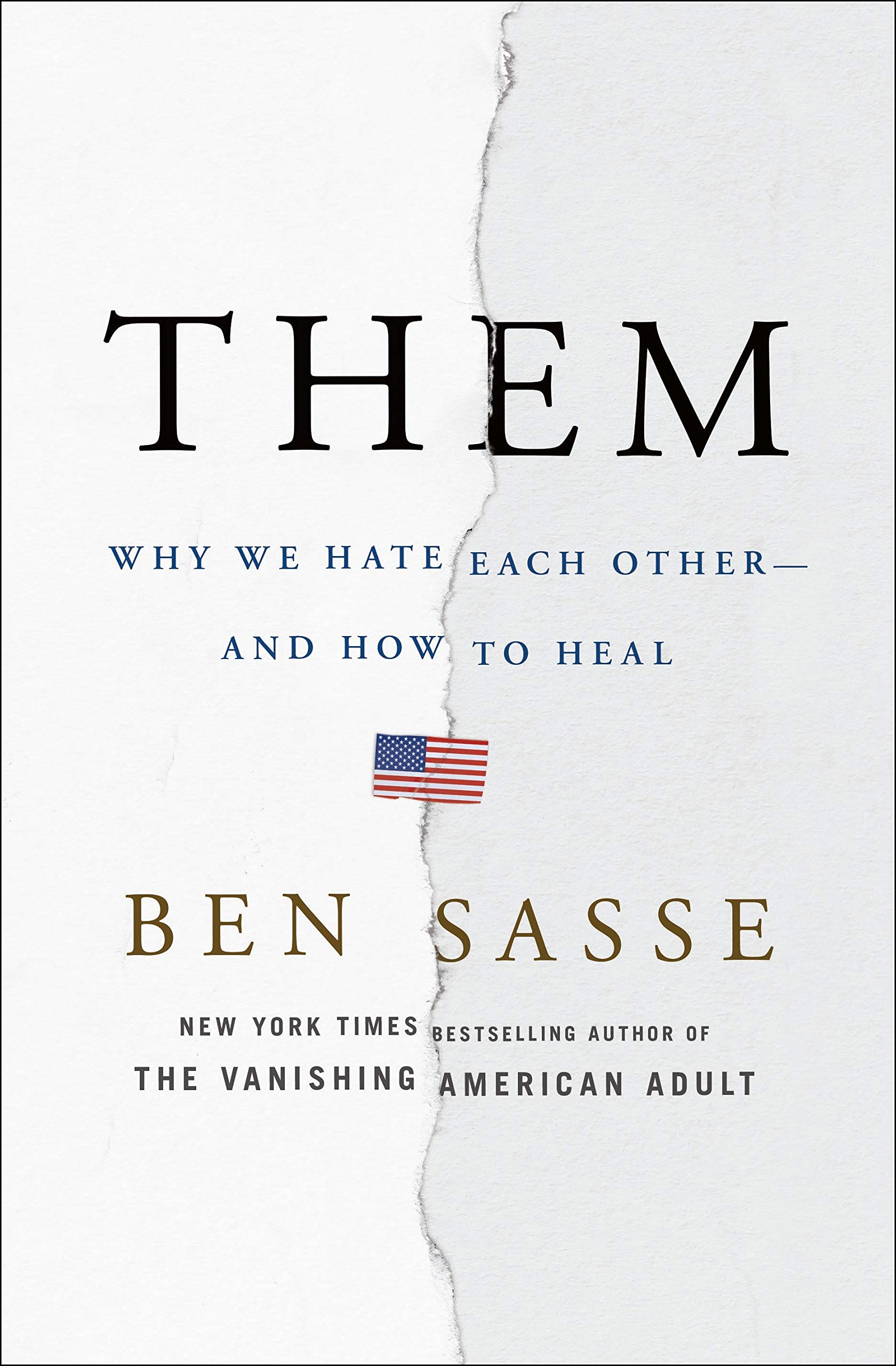Book  Discussion: Them, by Ben Sasse