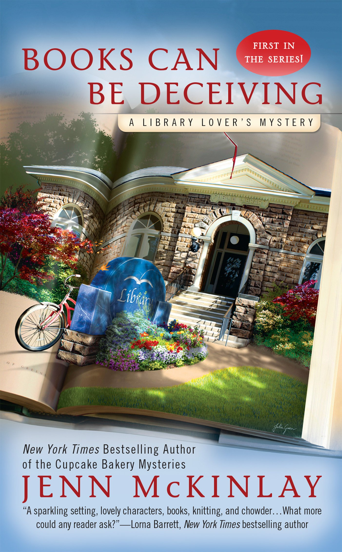 Mystery Readers Book Club: Books Can Be Deceiving by Jenn McKinlay