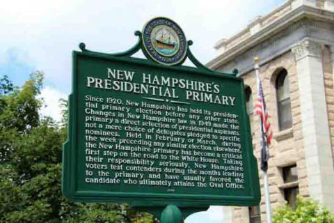 A history of the NH Presidential Primary