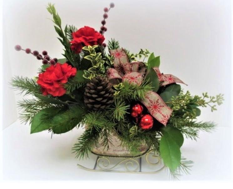 Christmas Floral Centerpiece Workshop