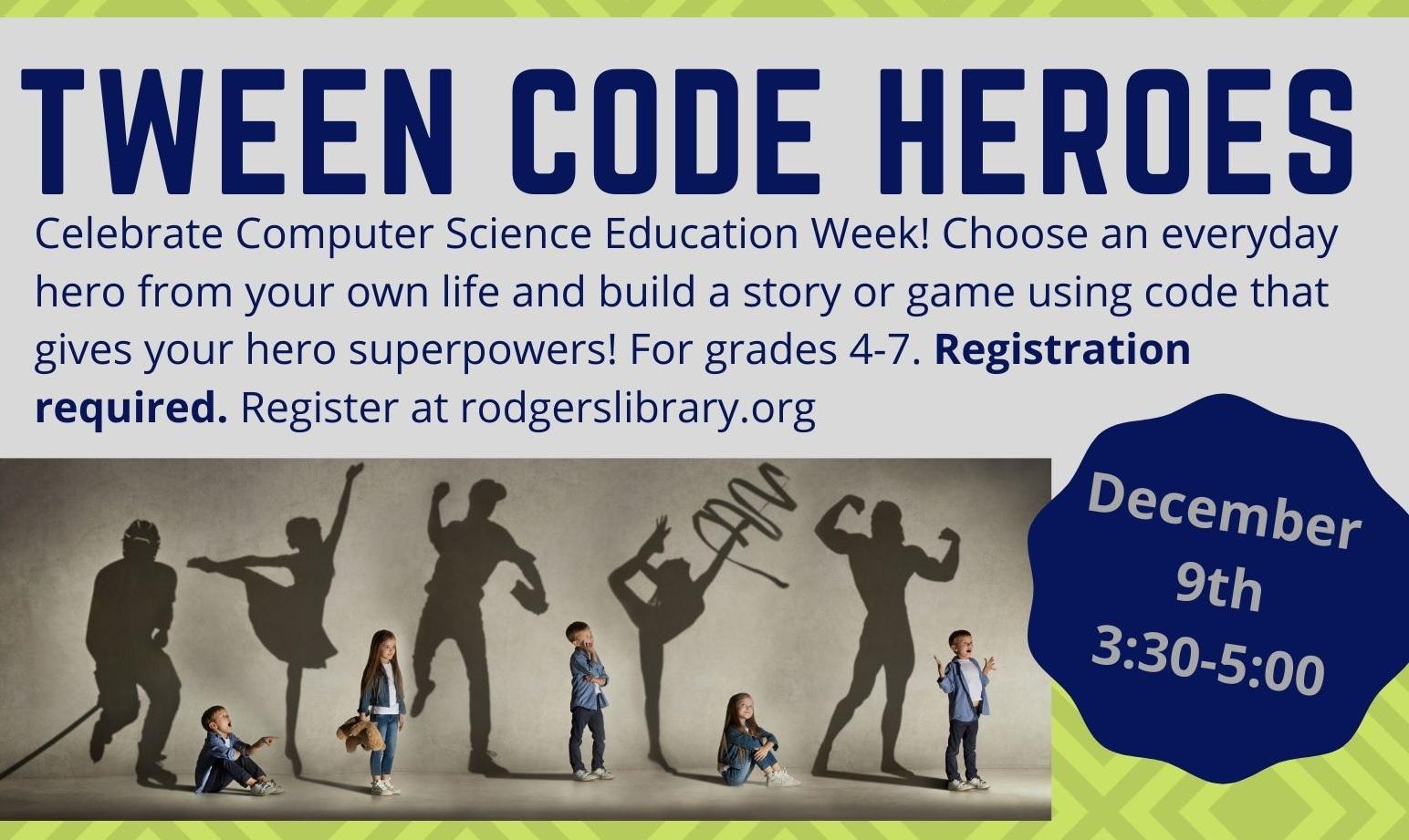 TWEEN Code Heroes