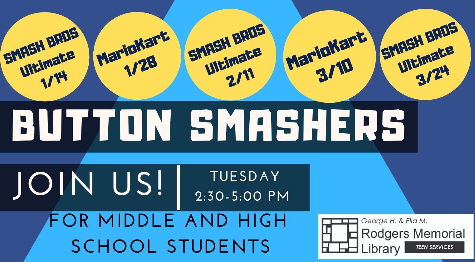 Button Smashers: MarioKart Tournament