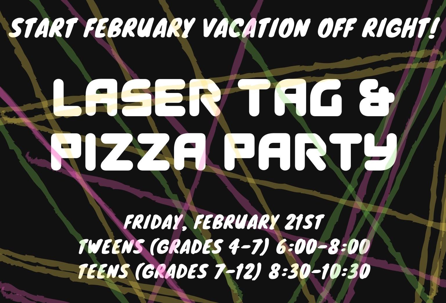 SNOW DATE: Teen Laser Tag