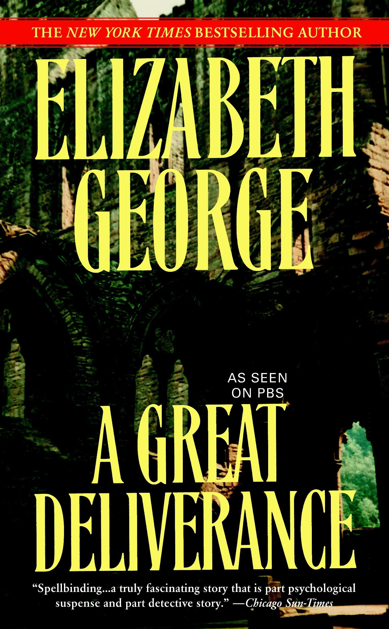 Mystery Readers Book Club: A Great Deliverance, by Elizabeth George