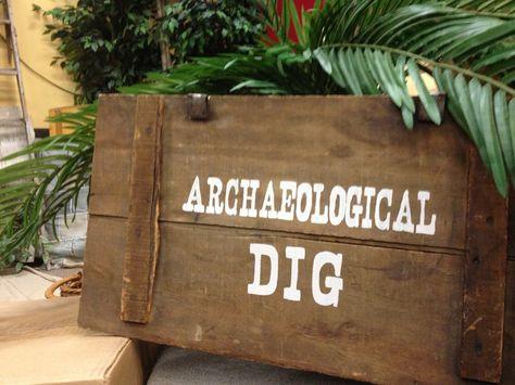 "I ""dig"" Archaeological Mystery"