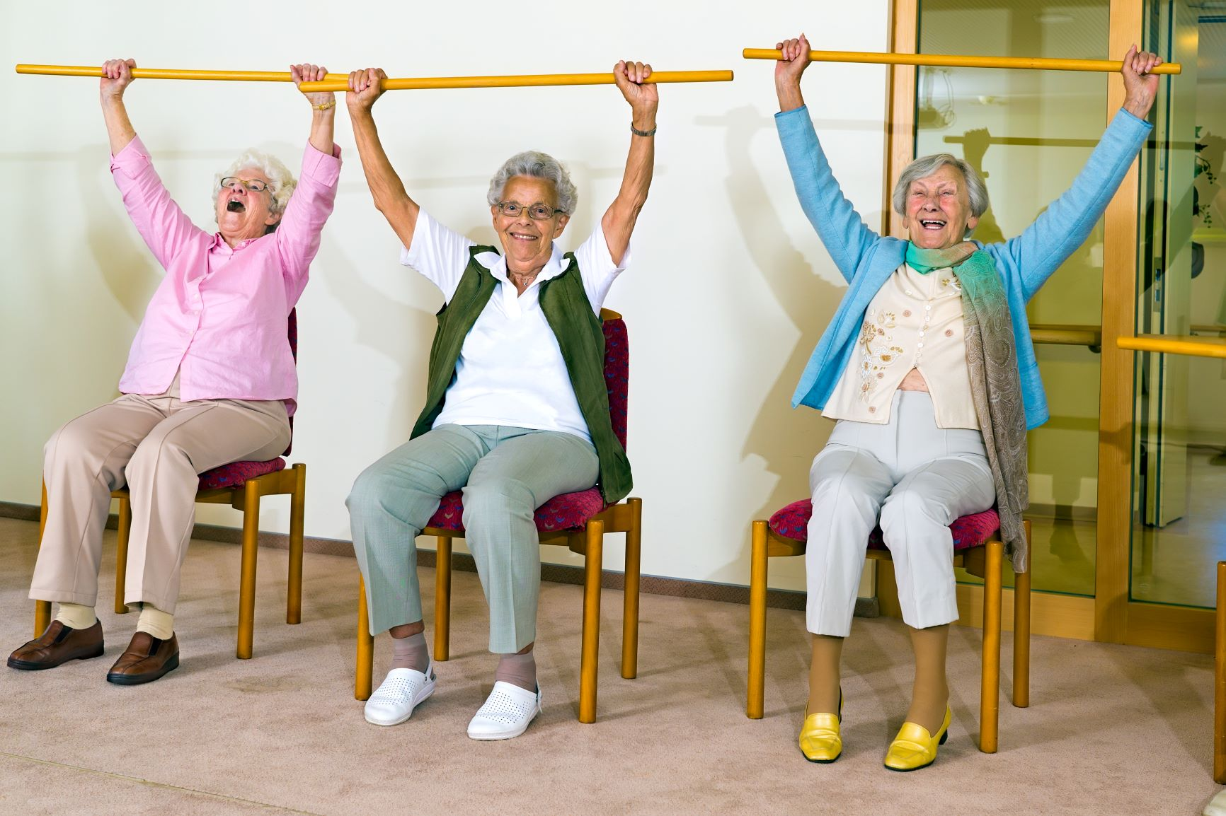 Get Moving With Your Library: Arthritic Chair & Stability for Seniors