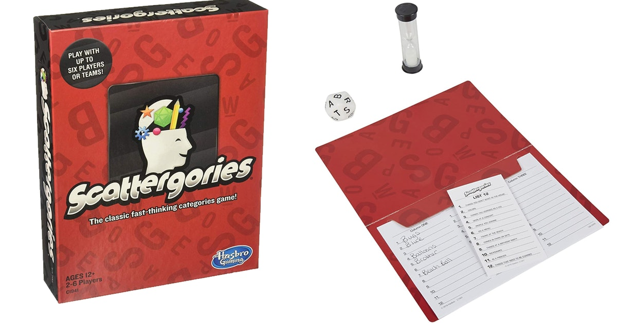 Online Games: Zoom Scattergories!