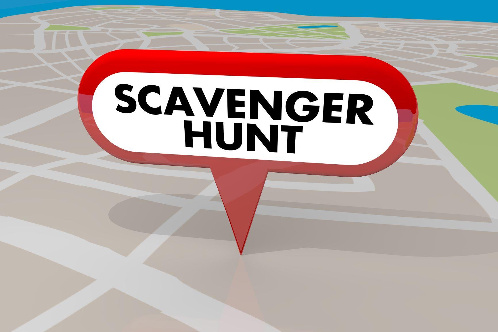 Online Games: Scavenger Hunt!