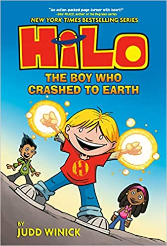 Page Turners: Hilo the Boy Who Crashed to Earth