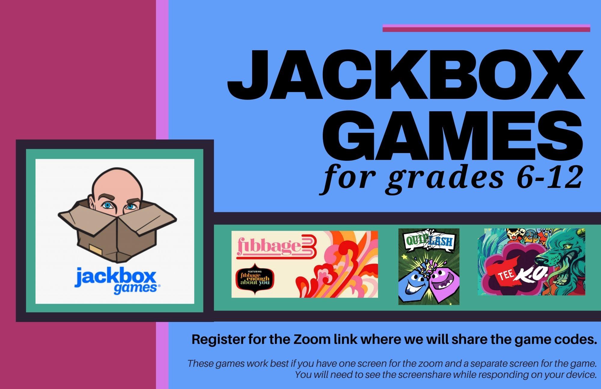 JackBox Games for Teens