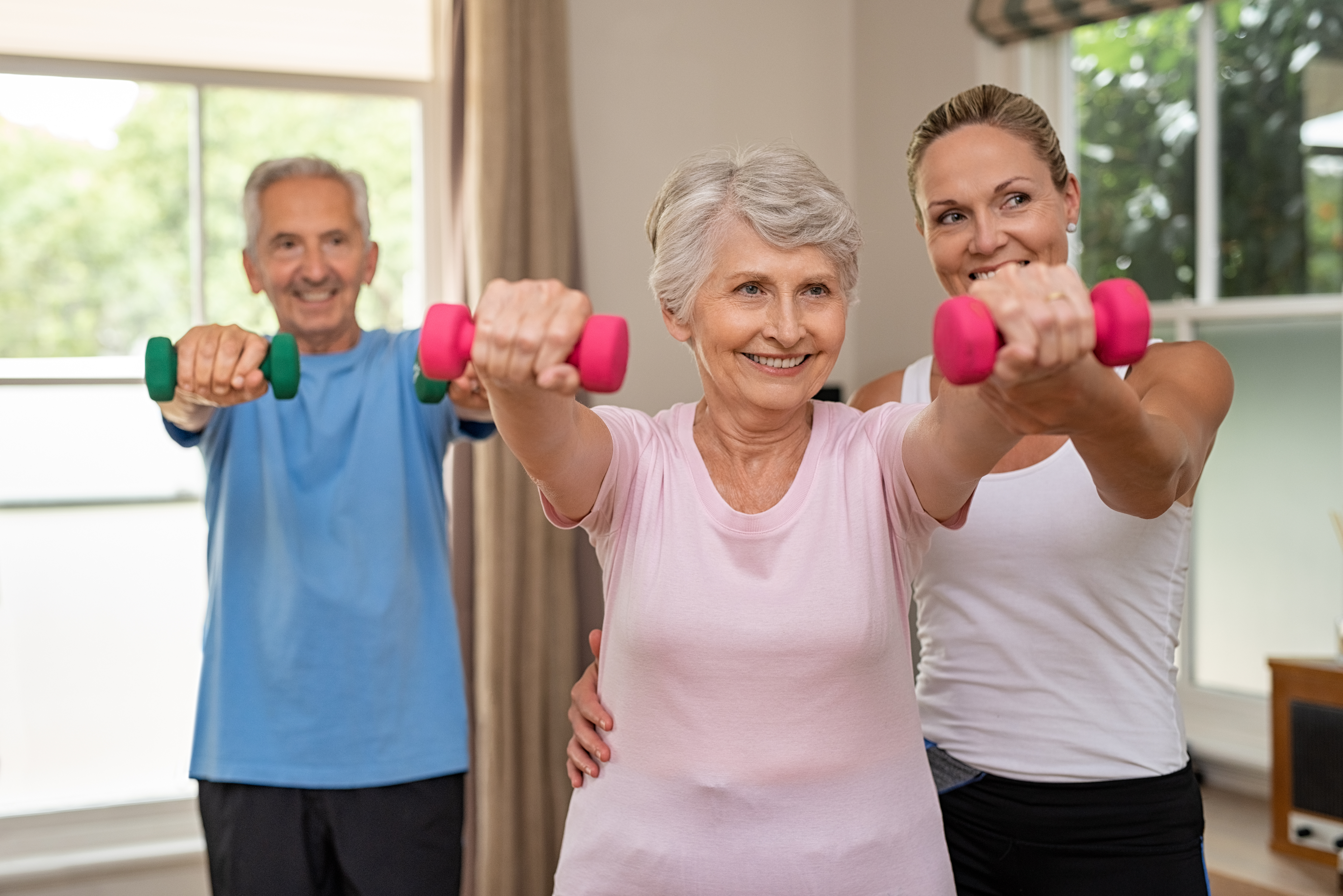 Get Fit With Your Library: Senior Aerobics & Strength