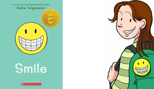 Tween Graphic Novel Book Club: Smile by Raina Telgemeier