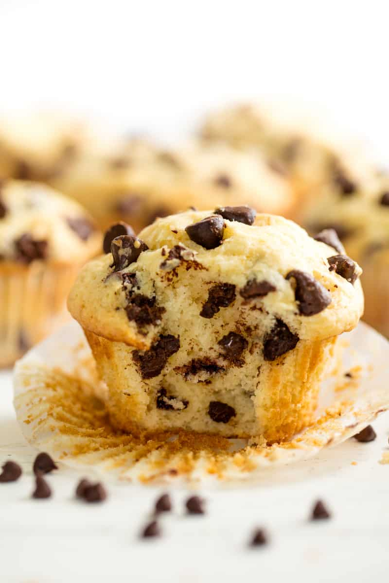 Snack Attack: Chocolate Chip Muffins