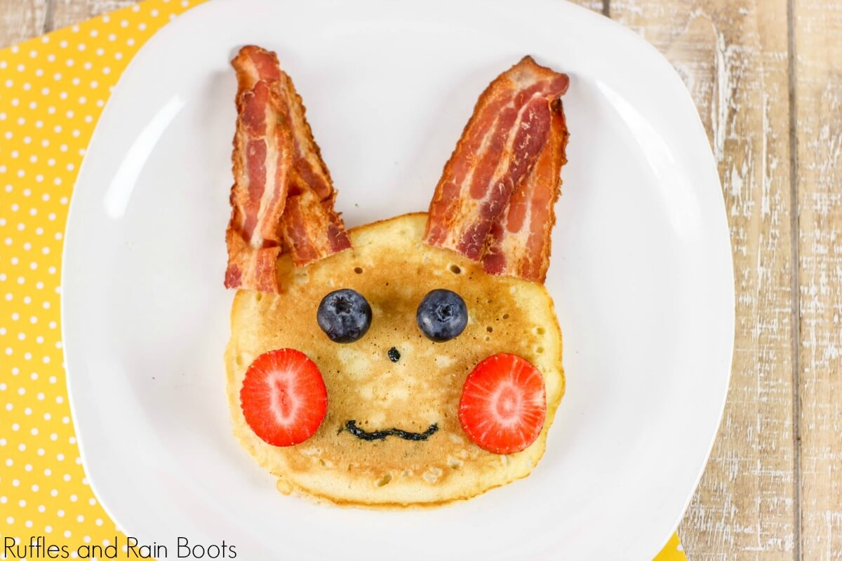 Virtual Pokémon Club: Pikachu Pancakes