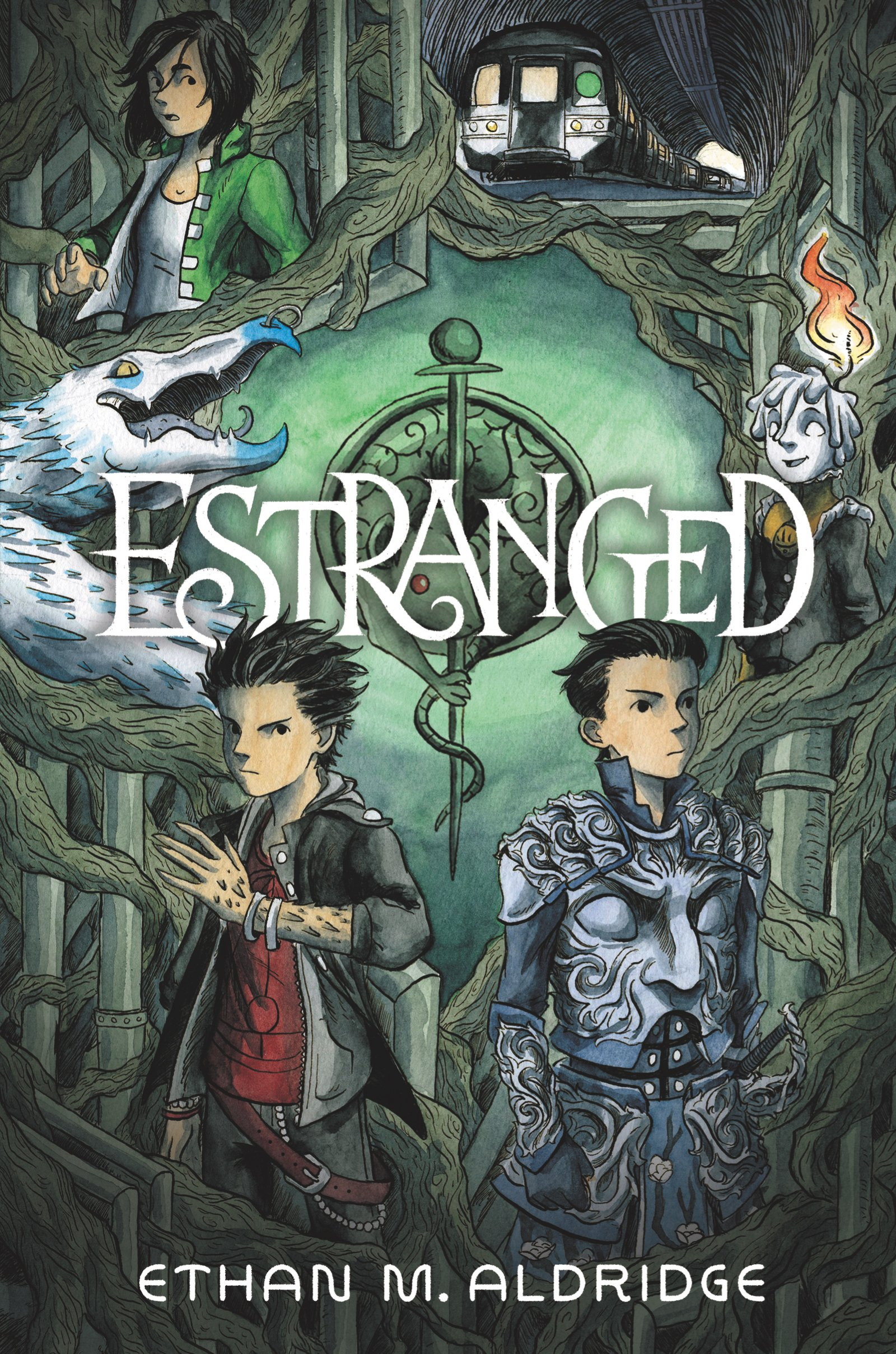 Tween Graphic Novel Book Club: Estranged by Ethan Aldridge