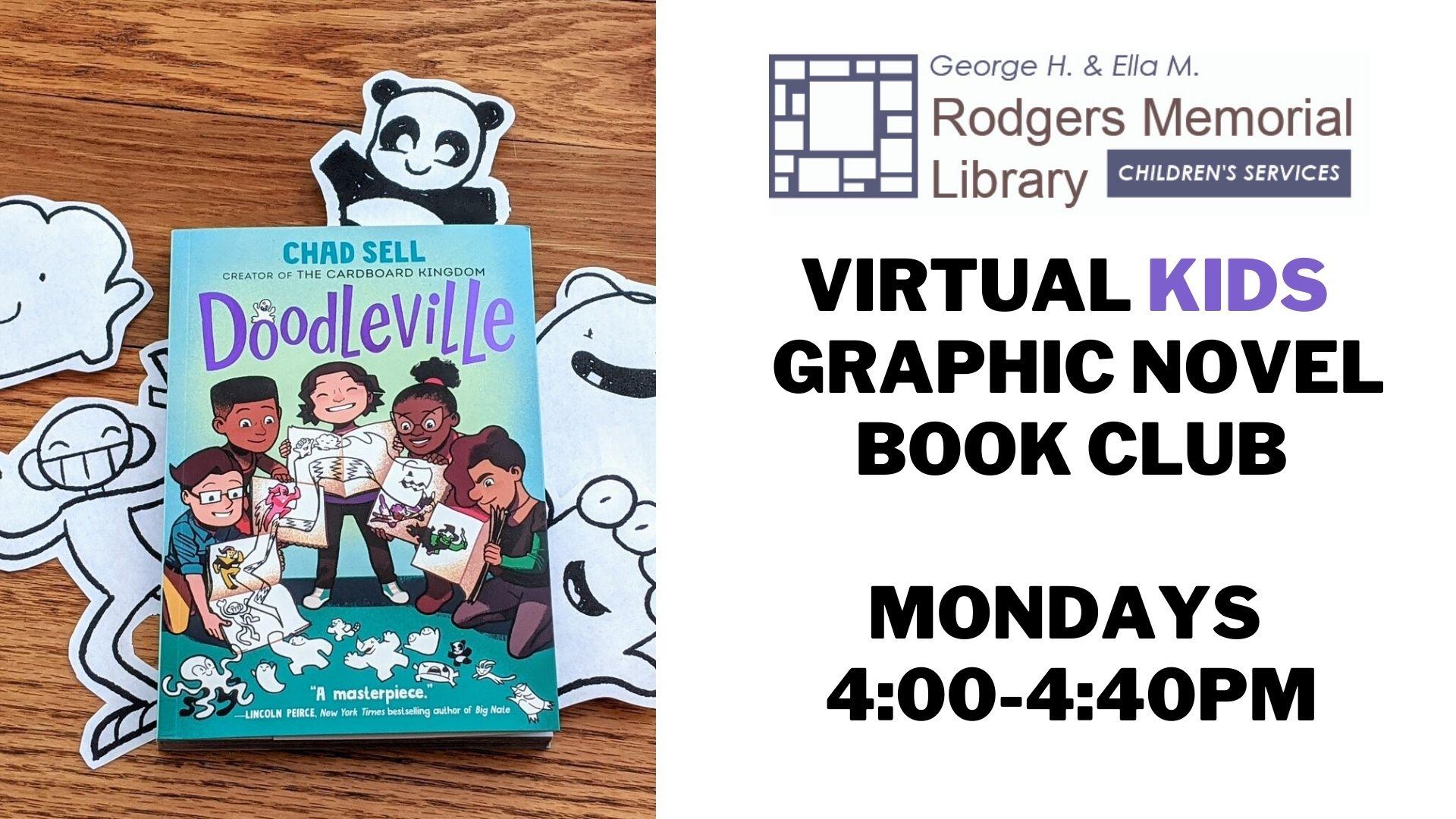 Kids Graphic Novel Book Club: Doodleville