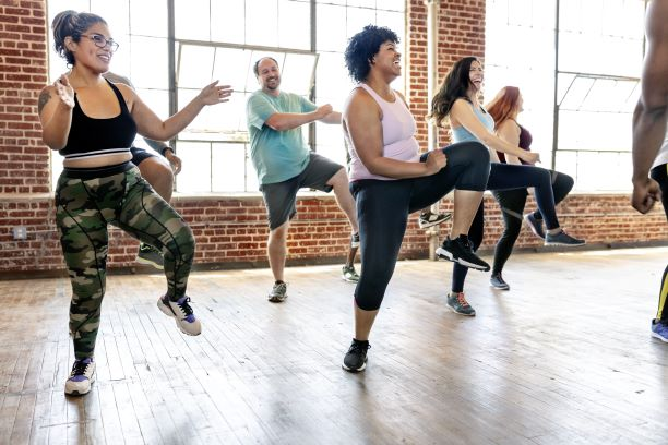 """Get Fit With Your Library"""" Zumba Gold (online)"""
