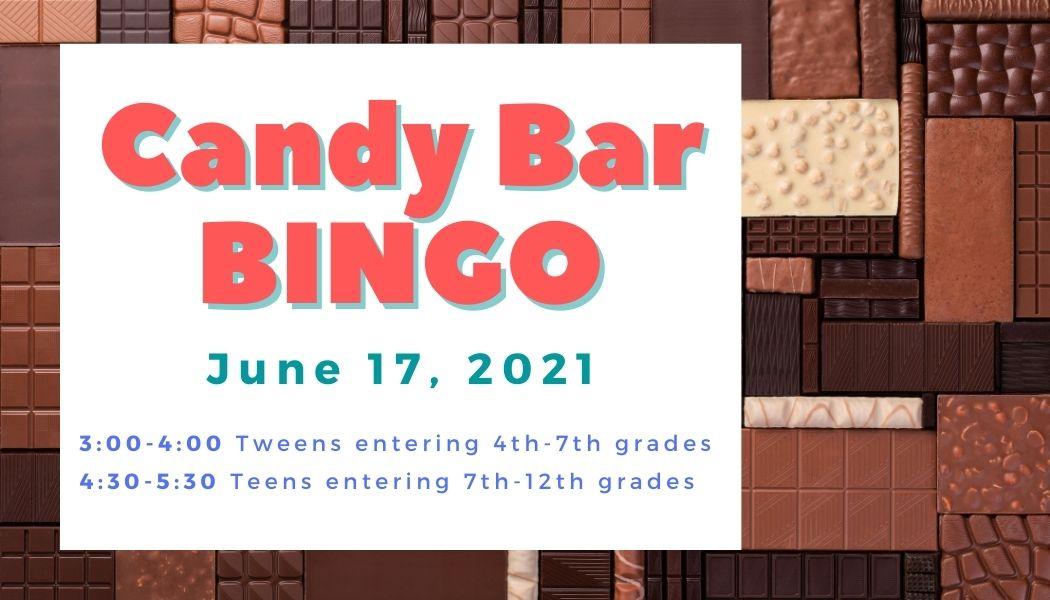 TWEEN Candy Bar BINGO SRP