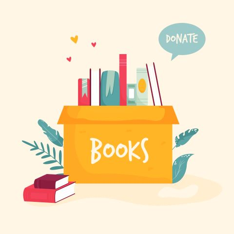 Book Donation Day! Friends of the Library